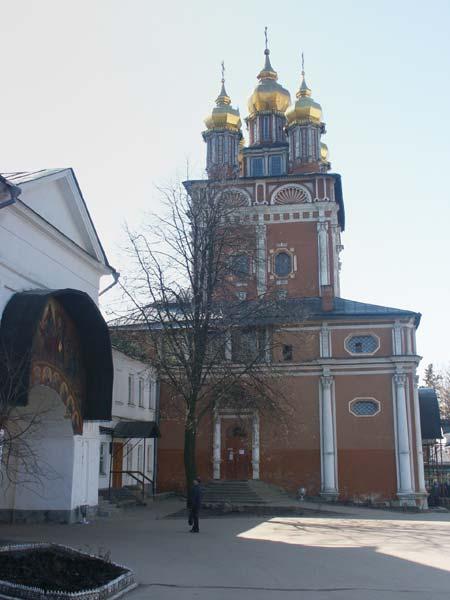 Паломничество - Надвратная церковь Рождества св. Иоанна Предтечи.jpg