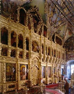 Паломничество - Иконостас в Трапезной.jpg
