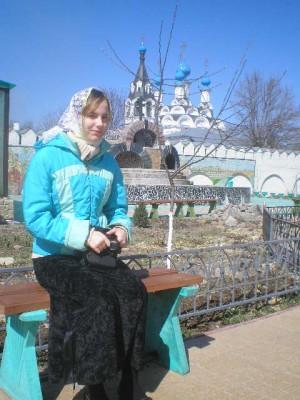 Прошу молитв о дочери, отроковице Елене - Дивеево 2009 058.jpg